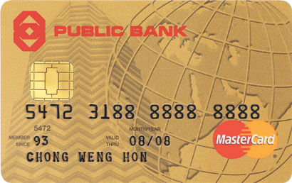 PB Gold MasterCard