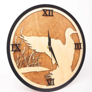 Waterfowl Clock