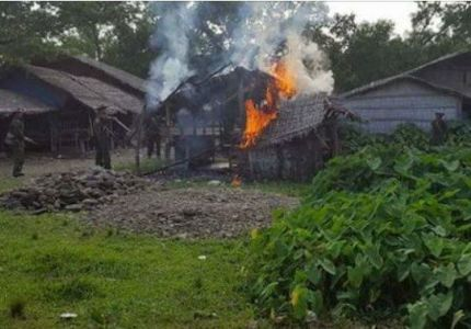 Army's continuous persecution to Rohingya villagers