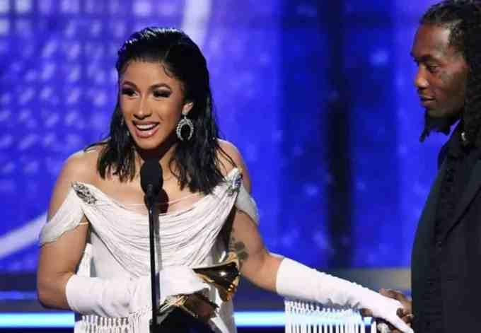 Cardi B Grammy 2019