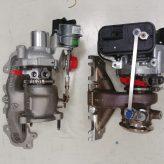 Turbo pro 1.2TCe (vlevo) vs. 1.3TCe (vpravo)