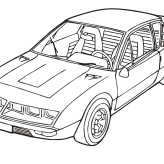 renault-alpine-a310-coloring-page