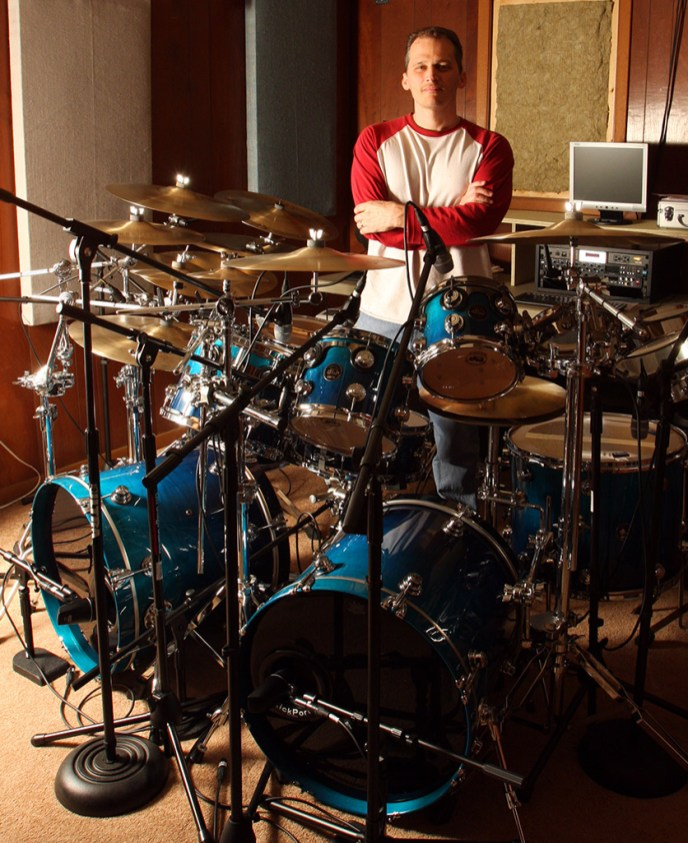 Richard Geer Home Studio Drummer For Collaboration