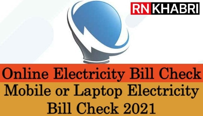 Online Electricity Bill Check
