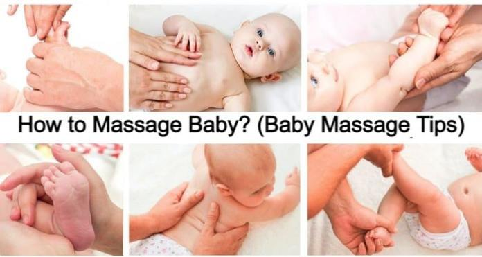 Baby Massage Tips: When and How to Massage Babies?
