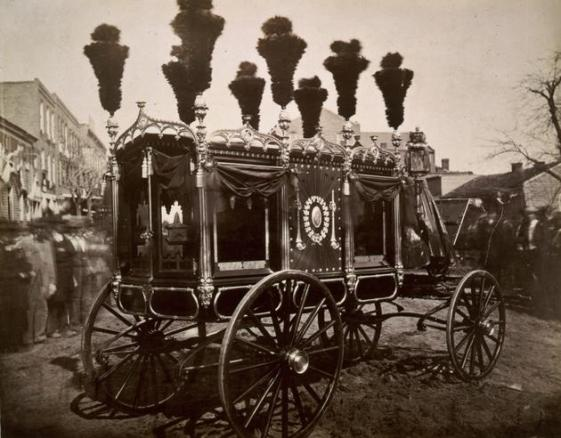 Abraham Lincoln's hearse, 1865
