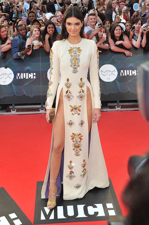 Kendall Jenner Split dress