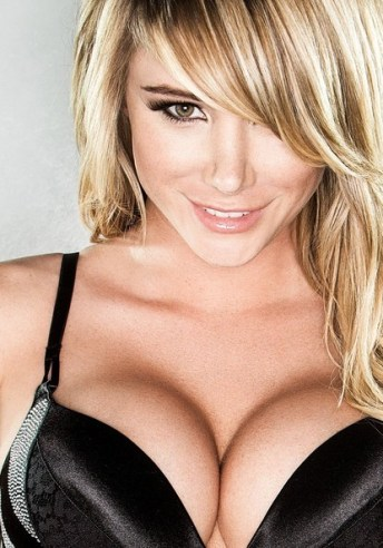 Sara Jean Underwood Pushed Together Boobs