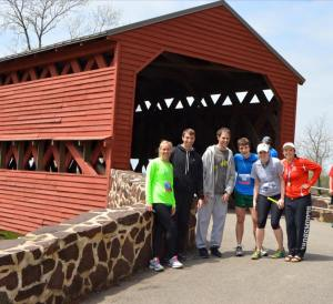 The most famous covered bridge in Pa.  George Washington built it.
