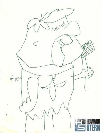 Seth Macfarlane -Fred Flintstone