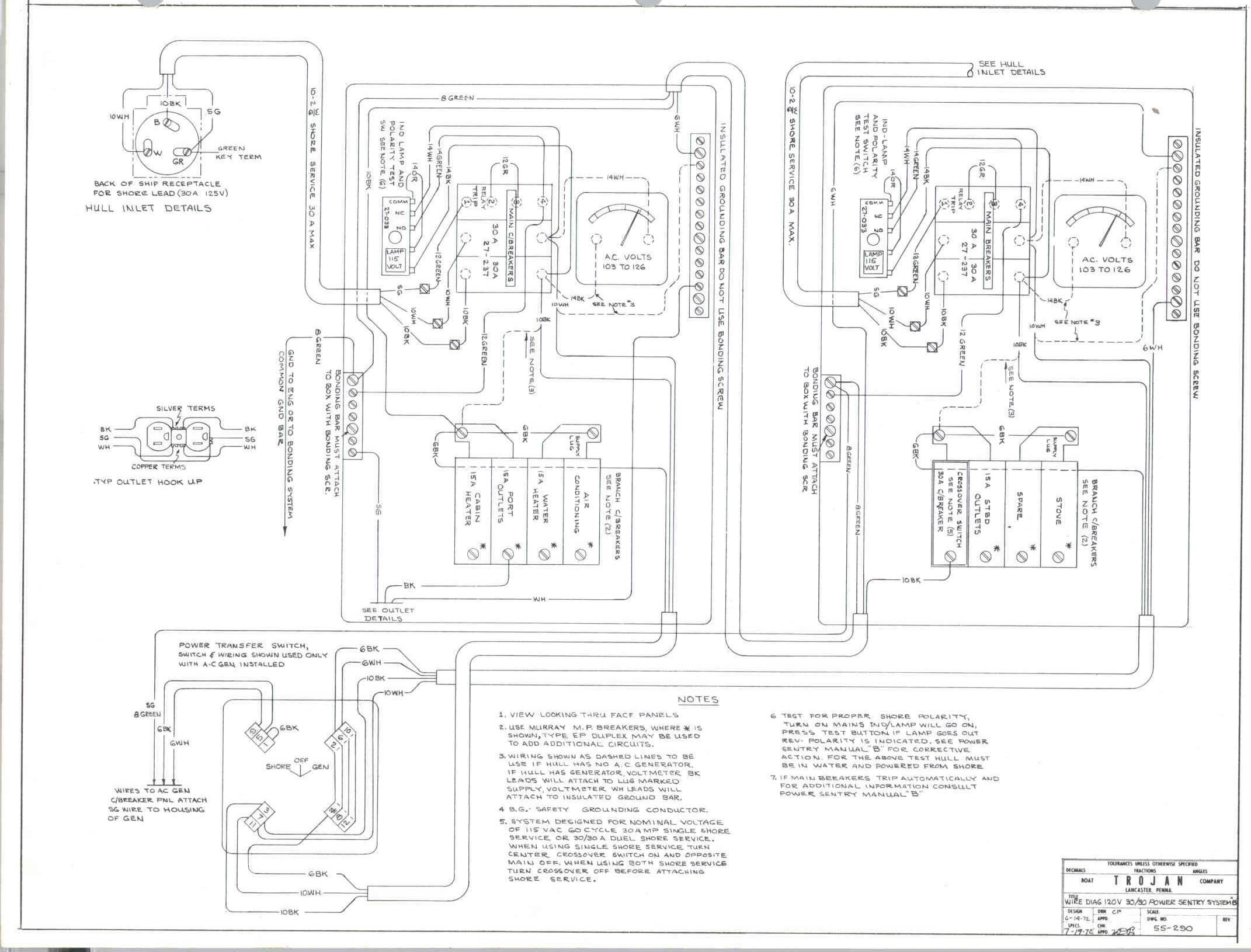 Procraft Boat Wiring Diagrams Schematics