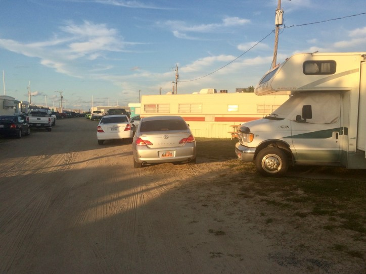 Campsite at the Kitty Hawk RV Park