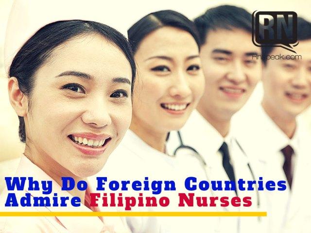 filipino nurses admired