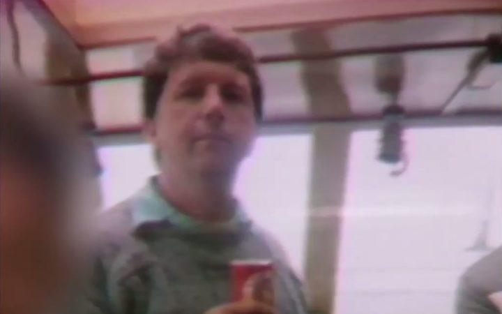 A screenshot of Chris Bush as seen in Police Ten 7.