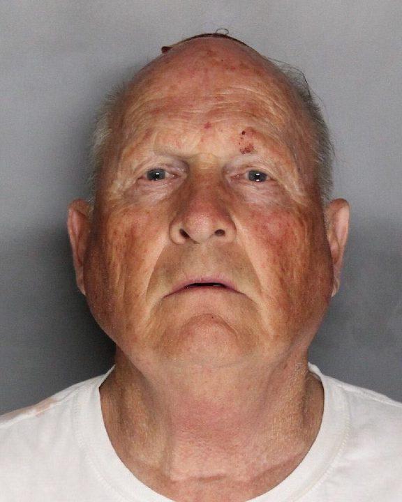 Golden State Killer suspect Joseph James DeAngelo .