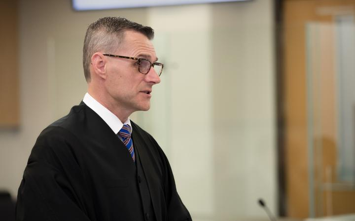 David Johnstone is prosecuting the trial for the Crown.