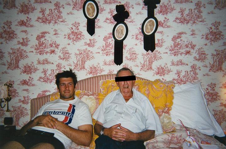 John Daniell and his step-father, Jim Stewart*.