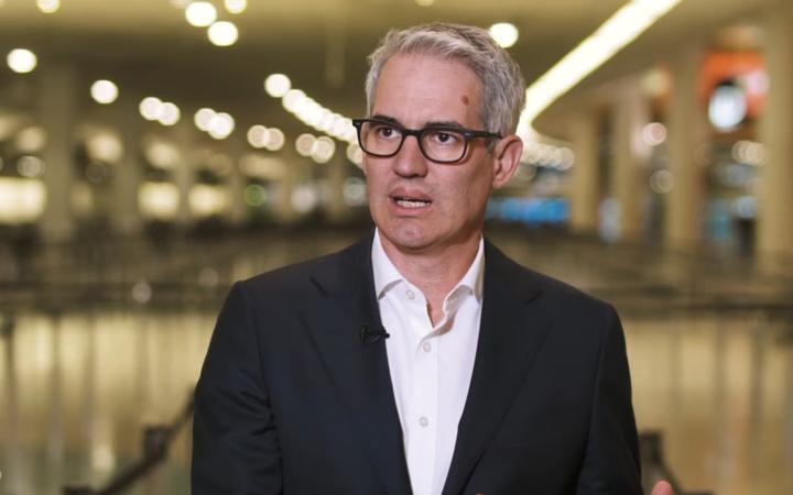 Auckland Airport chief executive Adrian Littlewood