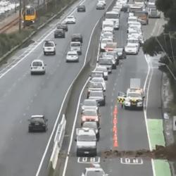 Wellington commuters face long waits after SH2 slip