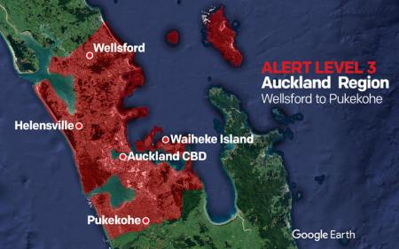 aucklanders prepare for return to covid 19 alert level 3 at noon rnz news
