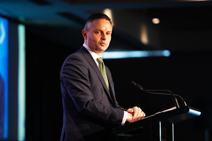 James Shaw at the BusinessNZ Leaders conference