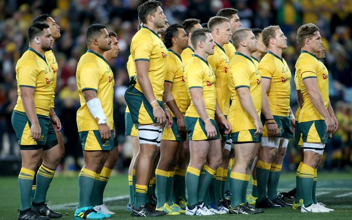 Quarantine regulations have been relaxed allowing the Wallabies to train all together when they arrive in New Zealand.