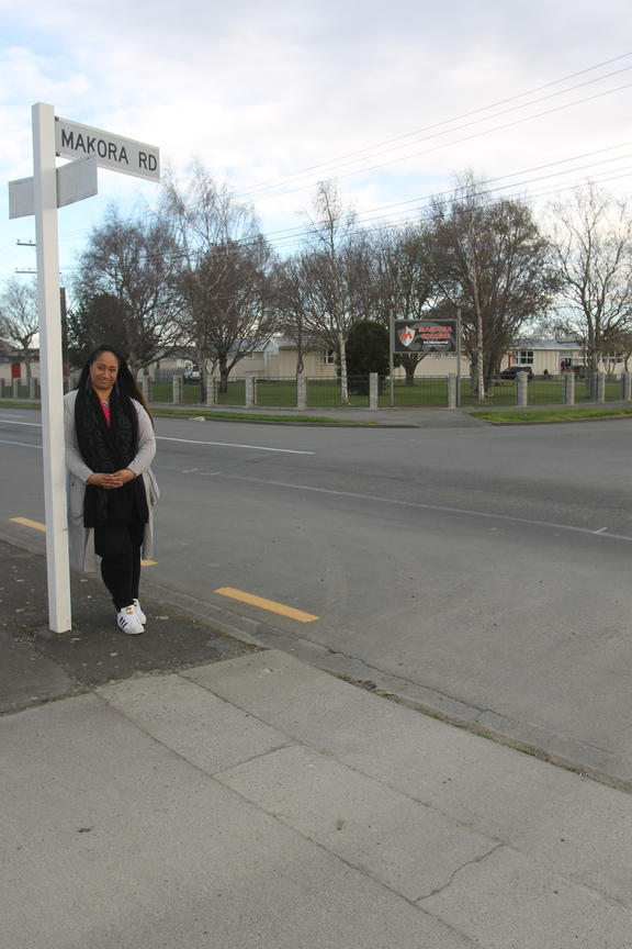 Tiraumaera Te Tau, Rangitane o Wairarapa representative on Masterton District Council. The council is set to formally change the spelling of the town's Makora Road after more than a century.