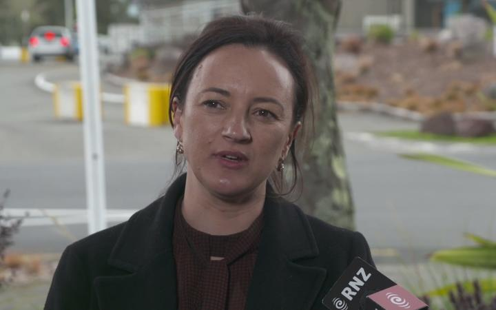 New Zealand First's Talani Meikle, who has been named as number eight on the party list.