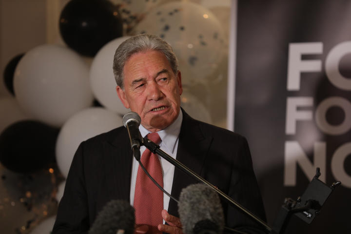 New Zealand First leader Winston Peters thanked his supporters this evening, but said as for the next challenge, people would just have to wait and see.