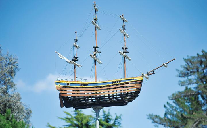 Endeavour Model - The Endeavour models were rebuilt and refurbished three times over four decades.