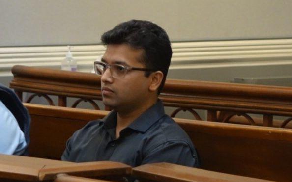 Preetam Maid, 32, at Dunedin District Court on 2 November 2020.