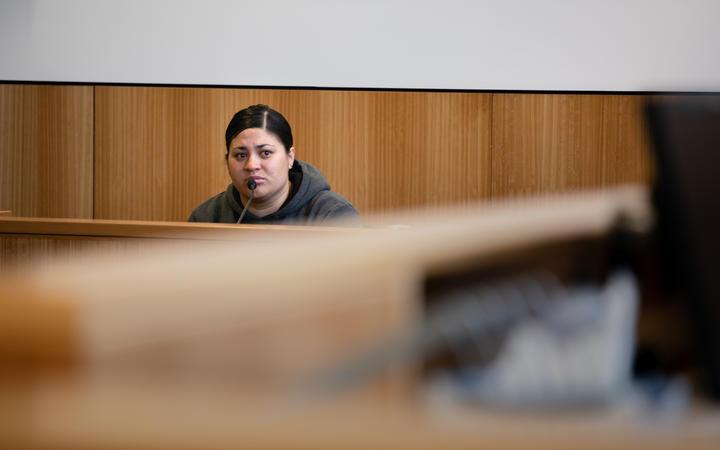 Mihi Bassett at the Manukau District Court