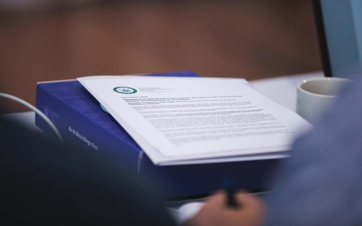 The final report by the Royal Commission of Inquiry into the terrorist attack on Christchurch mosques on 15 March 2019.