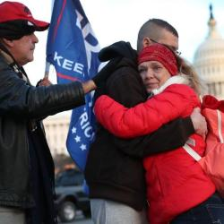 'Storm is here': Capitol shooting a victim excited for the Trump rally.