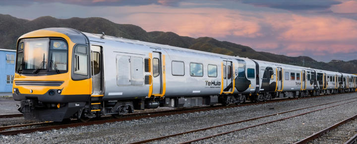 The new Hamilton to Auckland passenger train service called Te Huia will start in early April 2021.