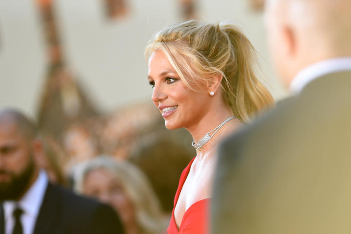 Britney Spears arrives for a Hollywood film premiere in 2019.