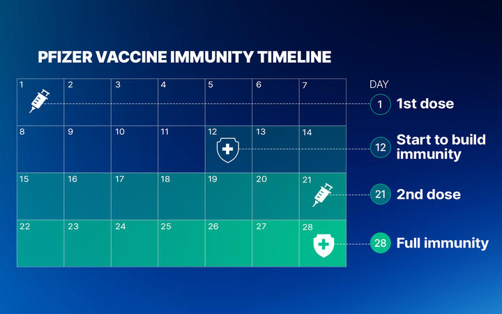 How the Pfizer vaccine works.