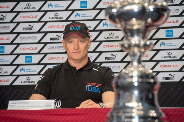 Former Oracle skipper, Jimmy Spithill.