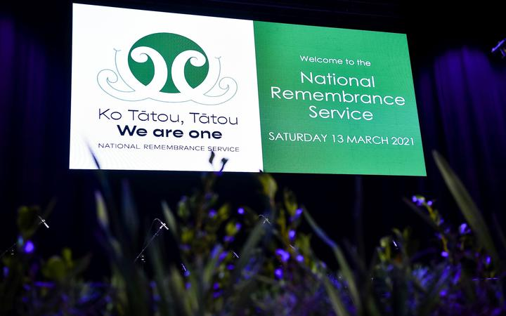 CHRISTCHURCH, NEW ZEALAND - March 13: Ko Tatou, Tatou We Are One, National Remembrance Service. March 13, 2021 in Christchurch, New Zealand. (Photo by Mark Tantrum/ Department of Internal Affairs)