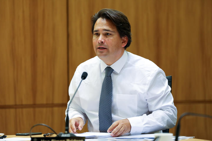 National MP Simon Bridges on the Justice Select Committee