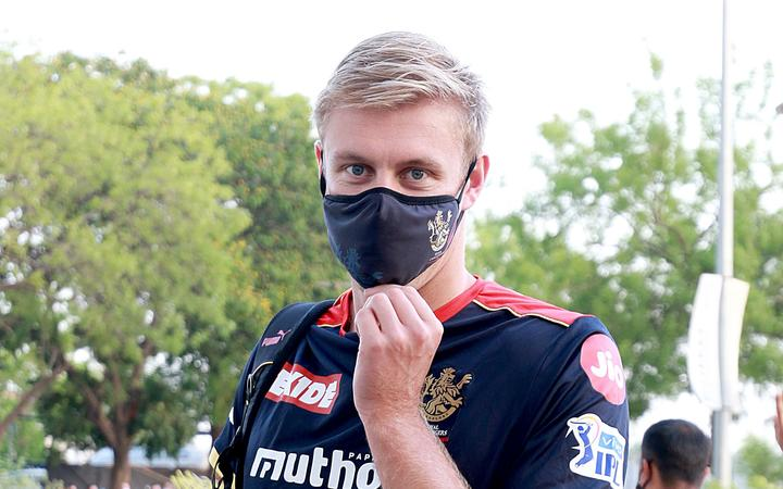 Kyle Jamieson of Royal Challengers Bangalore during the 2021 IPL.