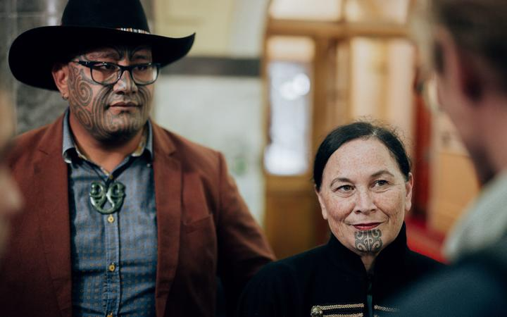 Rawiri Waititi and Debbie Ngarewa-Packer