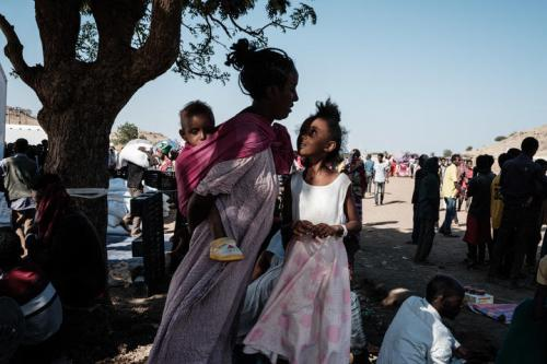 Fighting between the Ethiopian government and forces in its northern Tigray region has thrown the country into turmoil.