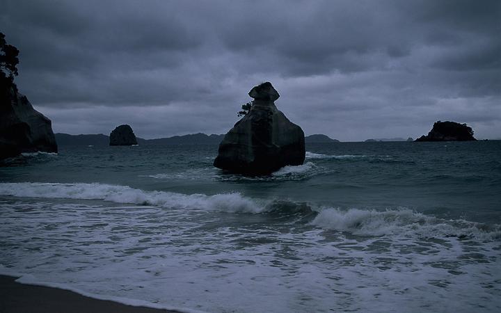 Coromandel, bad weather, rain, storm.