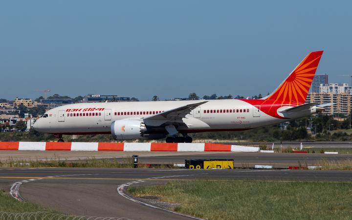 Sydney, Australia - February 12, 2019: Air India Boeing 787 Dreamliner taxiing at Kingsford Smith Sydney International Airport. Registration: VT-NAC