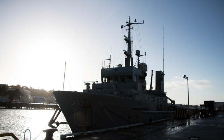 Manawanui was decommissioned from the RNZN in February. She was bought by the parent company of Major Projects Group, an Australian company that intends to use her for research.