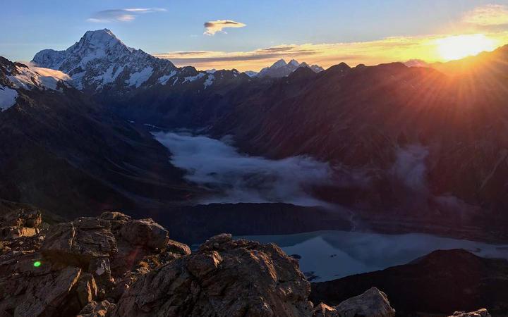 Generic scenic shot of Mt Cook