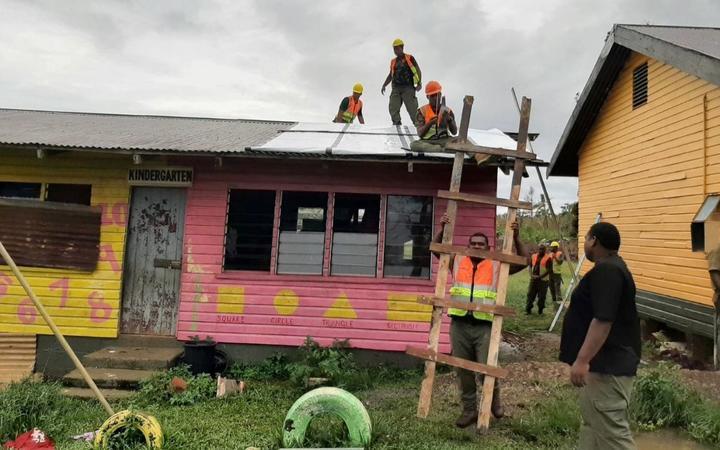 Rebuilding of education facilities damaged by Cyclone Yasa underway in Fiji.