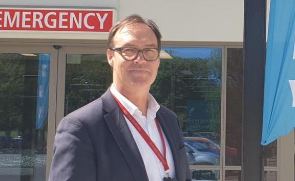 CDHB executive lead for facilities management Rob Ojala at Christchurch Hospital Waipapa.