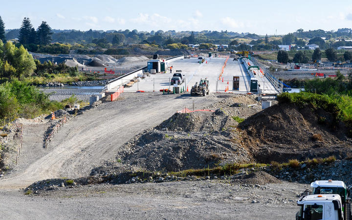 Ōtaki Gorge Road site at SH1 with Bridges.